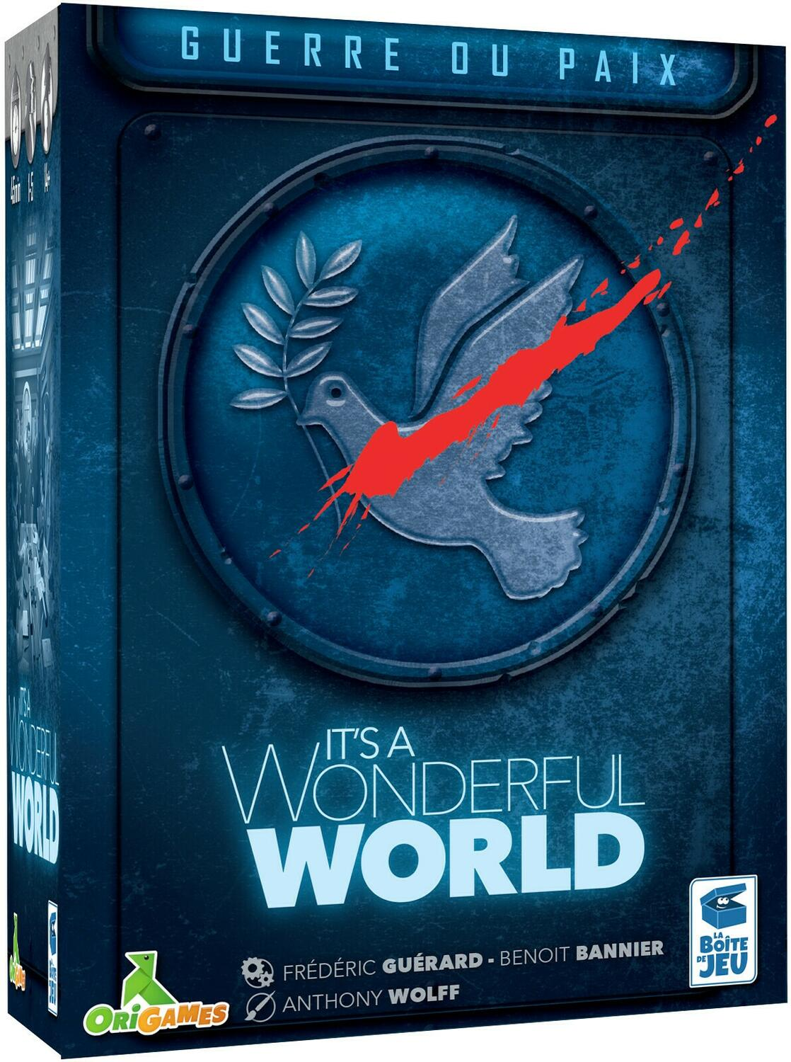 It's a Wonderful World: Guerre ou Paix Cover 3d
