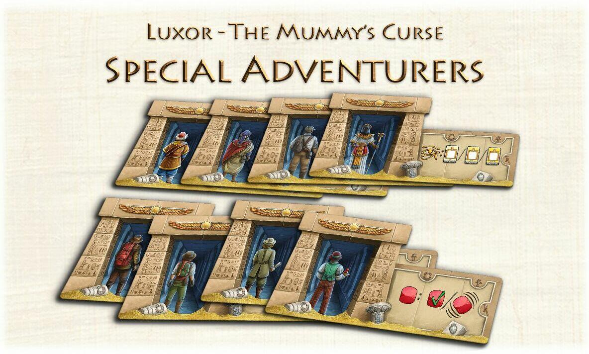 Luxor The Mummy/'s Curse Board Game