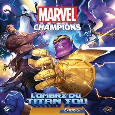 Marvel Champions: Le Jeu de Cartes - L'Ombre du Titan Fou