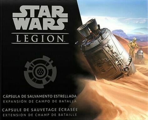 Star Wars: Légion - Capsule de Sauvetage Écrasée