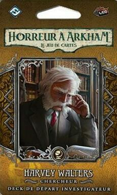Horreur à Arkham: Le Jeu de Cartes - Harvey Walters