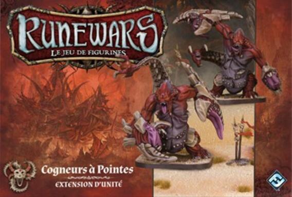 Runewars: Le Jeu de Figurines - Cogneurs à Pointes
