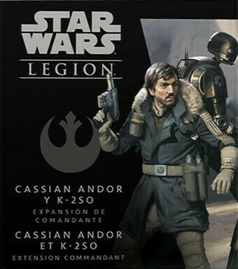 Star Wars: Légion - Cassian Andor et K-2SO