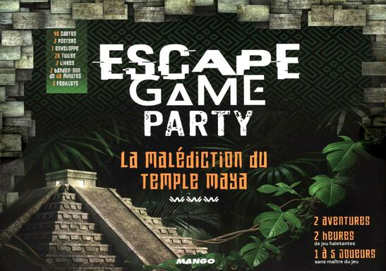 Escape Game Party: La Malédiction du Temple Maya