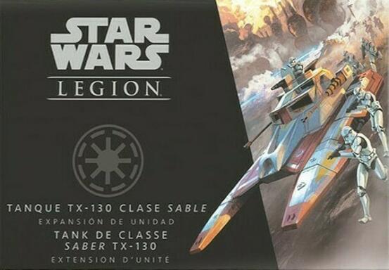 Star Wars: Légion - Tank de Classe Saber TX-130