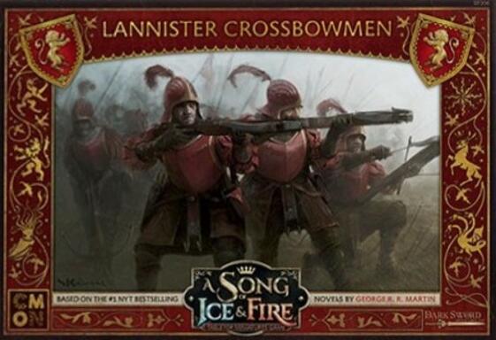 Le Trône de Fer: Le Jeu de Figurines - Arbalétriers Lannister