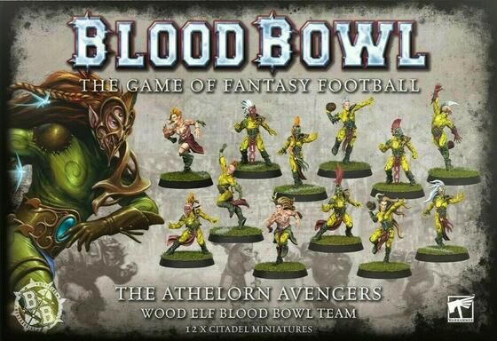 Blood Bowl: The Game of Fantasy Football - The Athelorn Avengers