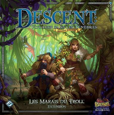 Descent: Voyages Dans les Ténèbres (Seconde Édition) - Les Marais du Troll