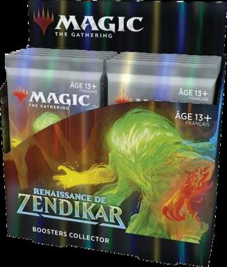 Magic: The Gathering - Renaissance de Zendikar - Collector Boosters