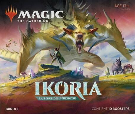 Magic: The Gathering - Ikoria La Terre des Béhémoths - Bundle