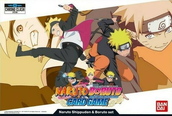 Naruto Boruto: Card Game - Naruto Shippuden & Boruto Set