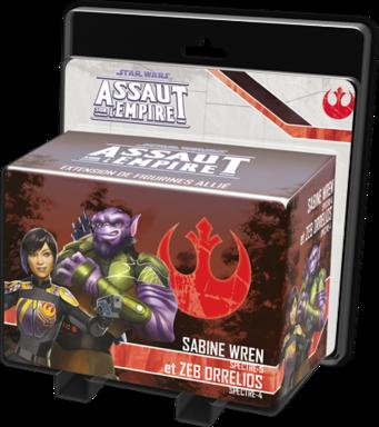 Star Wars: Assaut sur l'Empire - Sabine Wren et Zeb Orrellios