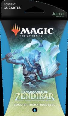 Magic: The Gathering - Renaissance de Zendikar - Booster Thématique Bleu
