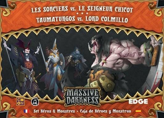 Massive Darkness: Set Héros & Monstres - Les Sorciers vs. Le Seigneur Chicot