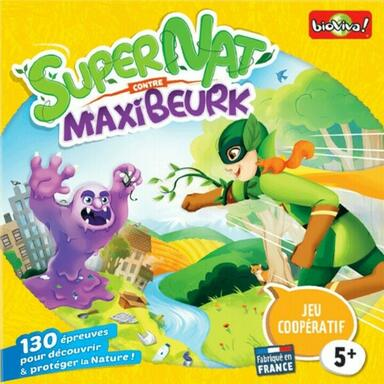 SuperNat' contre MaxiBeurk