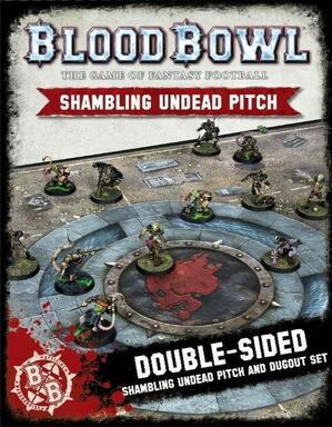 Blood Bowl: Le Jeu de Football Fantastique - Shambling Undead Pitch