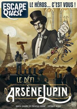 Escape Quest: Le Défi d'Arsène Lupin