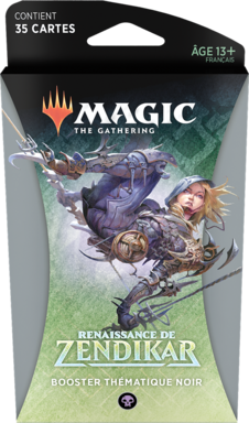 Magic: The Gathering - Renaissance de Zendikar - Booster Thématique Noir