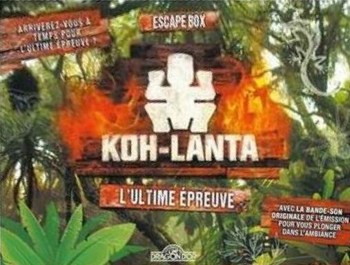 Escape Box: Koh-Lanta - L'Ultime Épreuve