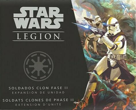 Star Wars: Légion - Soldats Clones de Phase II