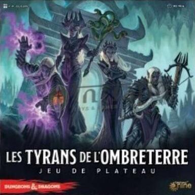 Les Tyrans de l'Ombreterre: Jeu de Plateau