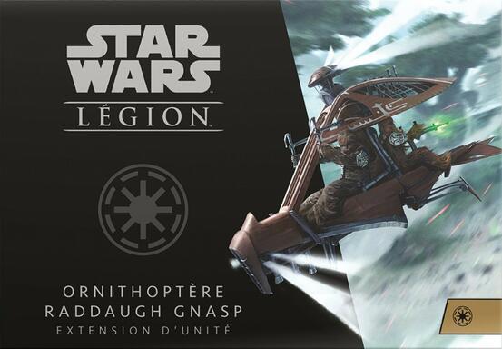 Star Wars: Légion - Ornithoptère Raddaugh Gnasp