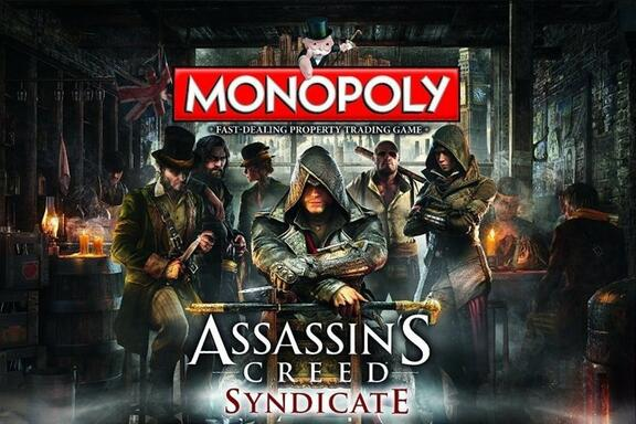 Monopoly Assassin S Creed Syndicate 2016 Board Games 1jour