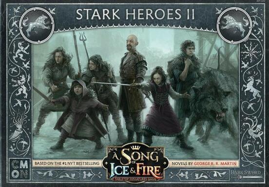Le Trône de Fer: Le Jeu de Figurines - Héros Stark II