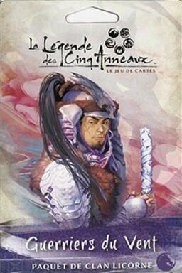 La Légende des Cinq Anneaux: Le Jeu de Cartes - Guerriers du Vent