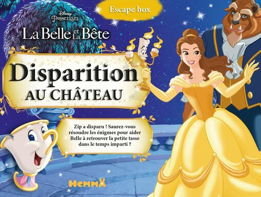 Escape Box: La Belle et la Bête - Disparition au Château