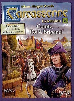 Carcassonne: Extension 6 - Comte, Roi & Brigand