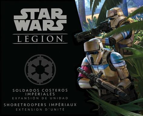 Star Wars: Légion - Shoretroopers Impériaux