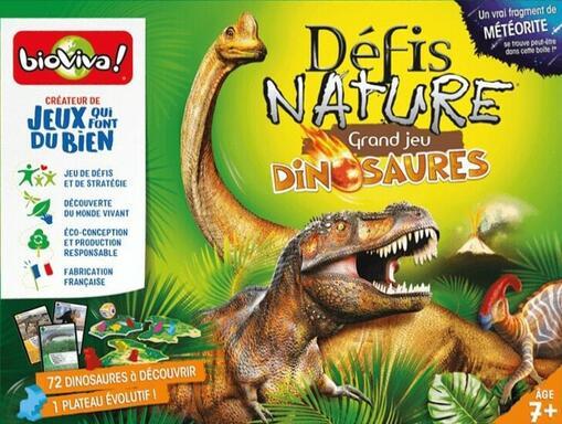 Défis Nature: Grand Jeu - Dinosaures