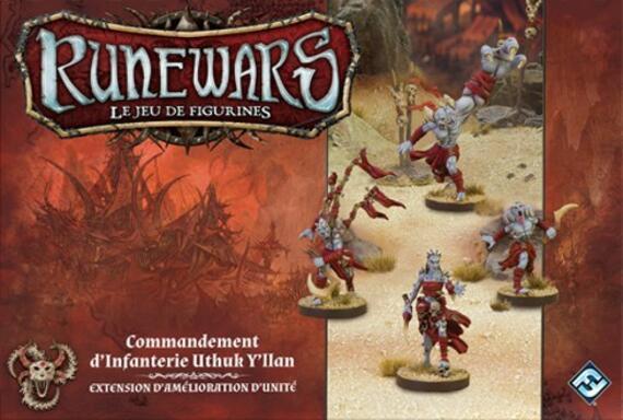Runewars: Le Jeu de Figurines - Commandement d'Infanterie Uthuk Y'llan