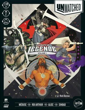 Unmatched: Combat de Légende - Volume 1