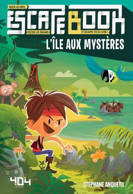 Escape Book: L'Île aux Mystères