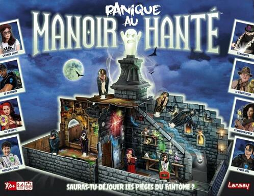Panique au Manoir Hanté