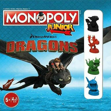 Monopoly: Junior - Dragons