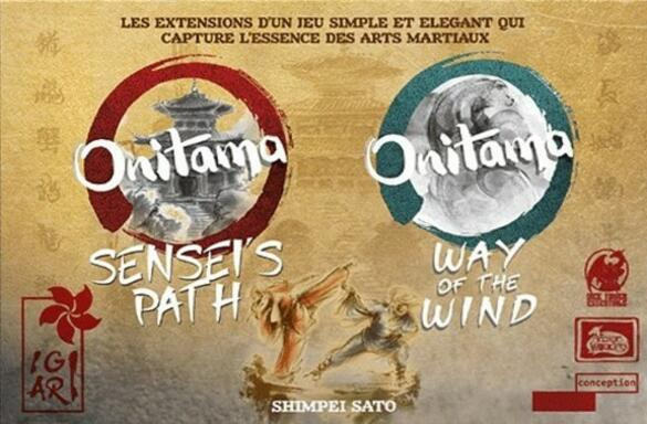 Onitama: Sensei's Path & Way of the Wind