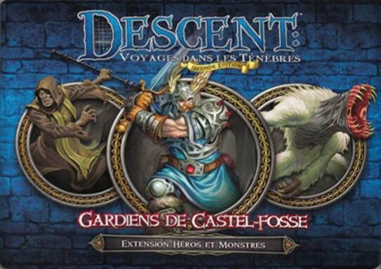 Descent: Voyages Dans les Ténèbres (Seconde Édition) - Gardiens de Castel-Fosse