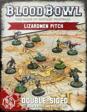 Blood Bowl: Le Jeu de Football Fantastique - Lizardmen Pitch