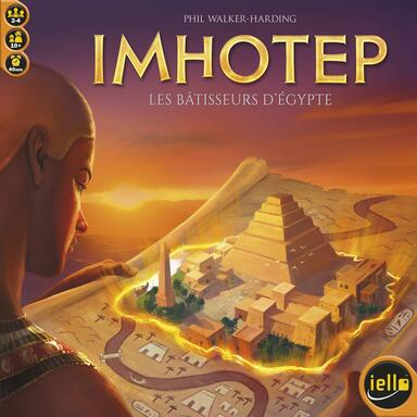Imhotep: Les Bâtisseurs d'Egypte