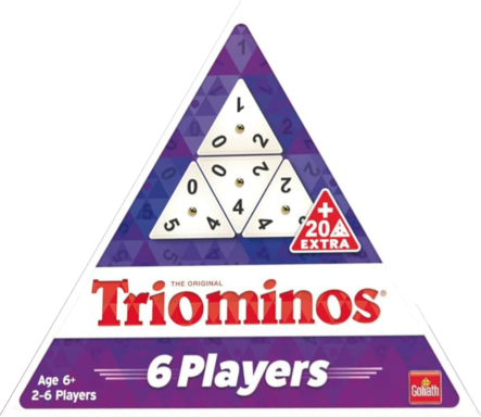 Triominos: 6 Players