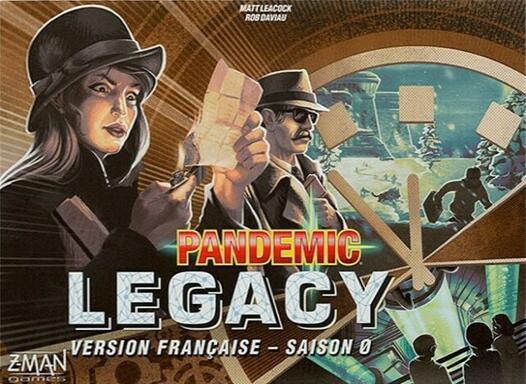 Pandemic Legacy: Saison 0