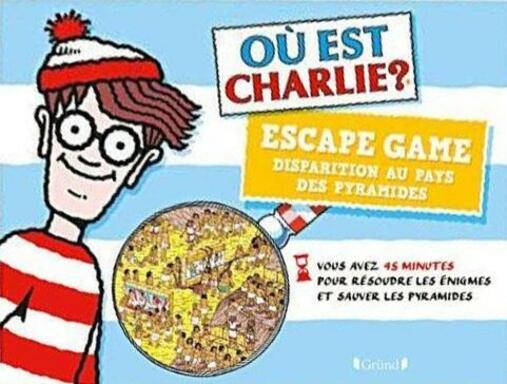Escape Game: Où est Charlie ? Disparition au Pays des Pyramides