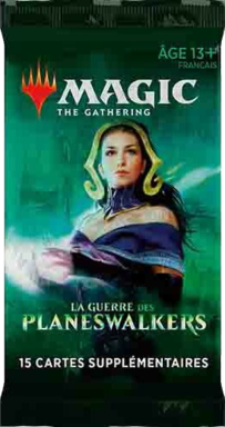 Magic: The Gathering - La Guerre des Planeswalkers - Booster