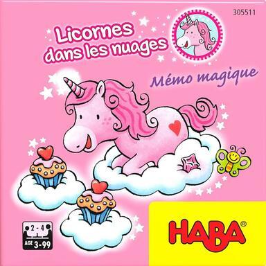Licornes Dans les Nuages: Mémo Magique