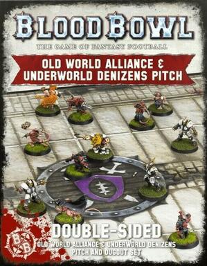 Blood Bowl: Le Jeu de Football Fantastique - Old World Alliance & Underworld Denizens Pitch