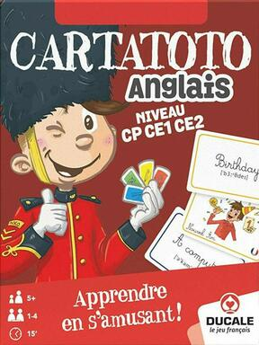Cartatoto: Anglais - Niveau CP CE1 CE2