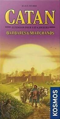 Catan: Barbares & Marchands - 5 et 6 Joueurs